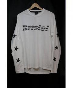 F.C.R.B.(エフシーレアルブリストル)の古着「F.C.R.B. L/S STAR TRAINING TOP」|ホワイト