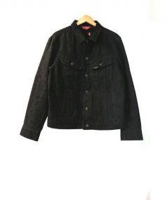 SUPREME(シュプリーム)の古着「100 dollar bill trucker jacket」|ブラック