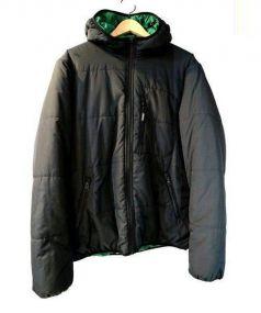 SUPREME(シュプリーム)の古着「Reversible Hooded Puffy Jacket」|ブラック