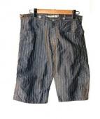 JUNYA WATANABE MAN(ジュンヤワタナベ コムデギャルソン マン)の古着「シンチバッグ ショートパンツ」 グレー