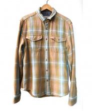 outer known(アウターノウン)の古着「ブランケットシャツ」|ブラウン