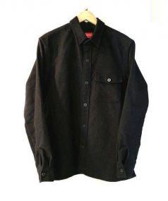 SUPREME(シュプリーム)の古着「Moleskin Naval Shirt」|ブラック