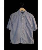 COMME des GARCONS HOMME(コムデギャルソンオム)の古着「ギンガムチェックシャツ」 ブルー×ホワイト