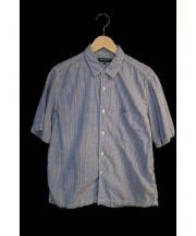 COMME des GARCONS HOMME(コムデギャルソンオム)の古着「ギンガムチェックシャツ」|ブルー×ホワイト