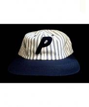 PALACE(パレス)の古着「PAL CAP STRIPED 6 Panel」|ネイビー
