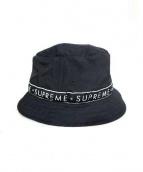 SUPREME(シュプリーム)の古着「Logo Side Tape Crusher」|ブラック