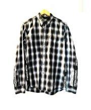 uniform experiment(ユニフォームエクスペリメント)の古着「TAPE LINE B.D. SHIRT」|ブラック
