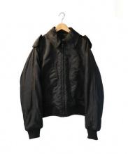 GUCCI(グッチ)の古着「中綿ブルゾン」 ブラック