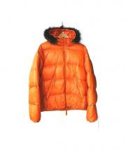 DUVETICA(デュベティカ)の古着「ダウンジャケット」|オレンジ