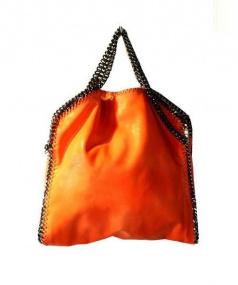 STELLA McCARTNEY(ステラマッカートニー)の古着「チェーンショルダーバッグ」|オレンジ