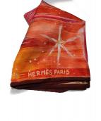 HERMES(エルメス)の古着「カレ90」|レッド×オレンジ