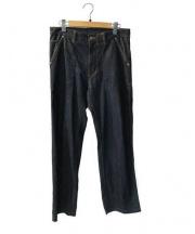 UNUSED(アンユーズド)の古着「ベイカーパンツ」|インディゴ