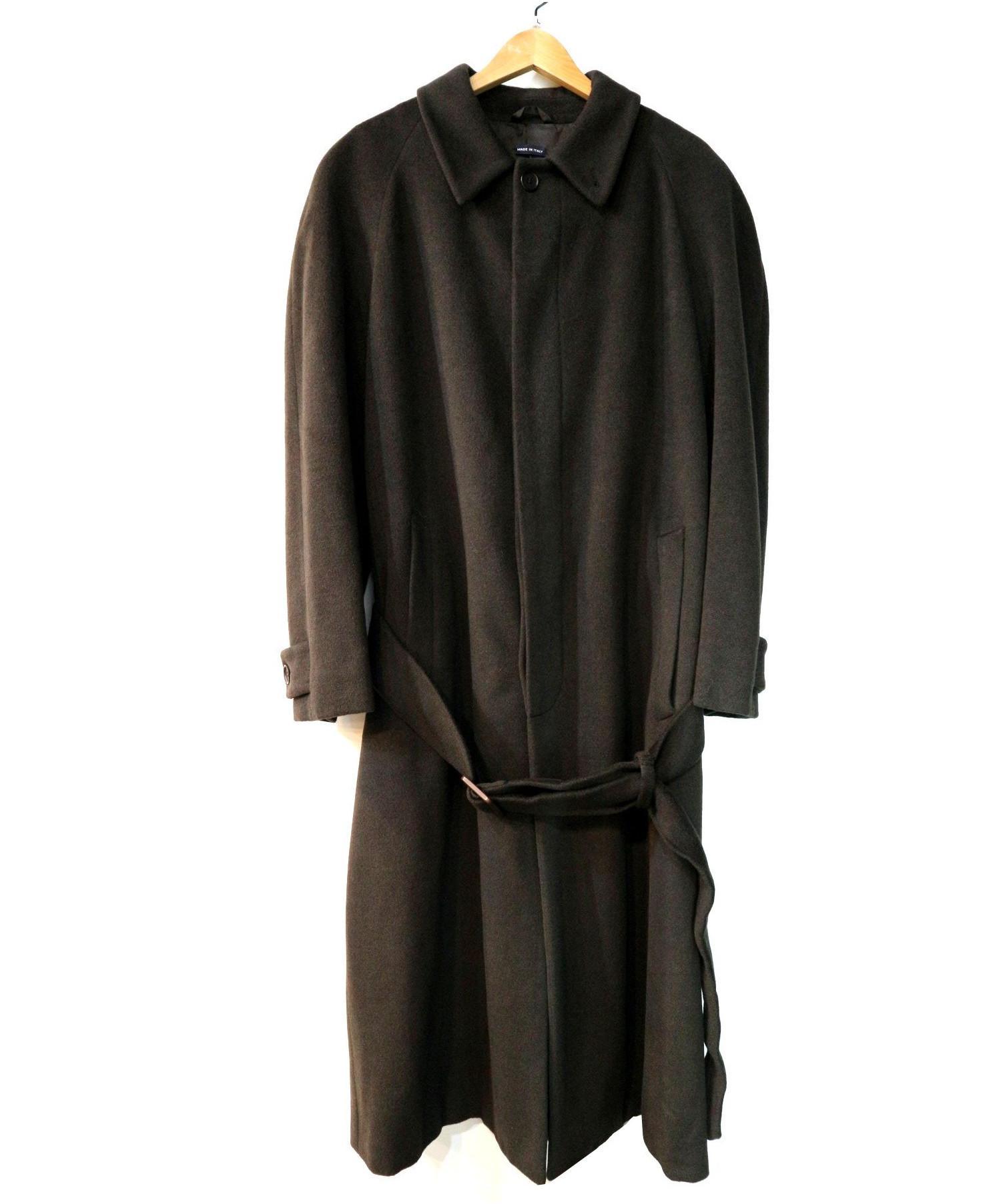 online store 18b06 ca4ef [中古]GIORGIO ARMANI(ジョルジオアルマーニ)のメンズ アウター・ジャケット アンゴラ混ロングコート