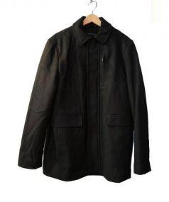 Calvin Klein(カルバンクライン)の古着「ウール中綿コート」|ブラック