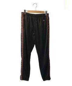 Champion×ballaholic(チャンピオン×ボーラホリック)の古着「MESH PANTS」|ブラック