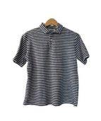 timone(ティモーネ)の古着「パイル地半袖ポロシャツ」|ホワイト