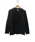 Cruciani(クルチアーニ)の古着「ニットジャケット」|ブラック
