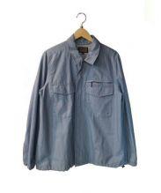 BLUE WORK(ブルーワーク)の古着「COCKPIT SHIRT」|ブルー