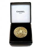 chanel(シャネル)の古着「ココホースブローチ」|ゴールド