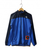 THE NORTH FACE(ザノースフェイス)の古着「Swallowtail Vent Hoodie」|ブルー