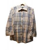 BURBERRY LONDON(バーバリーロンドン)の古着「チェックシャツ」