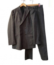 Mr.GENTLEMAN(ミスタージェントルマン)の古着「DOUBLE SET UP JACKET」|グレー