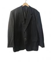 YOHJI YAMAMOTO COSTUME DHOMME(ヨウジヤマモトコスチュームドオム)の古着「セットアップスーツ」|ブラック