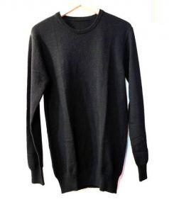 N.HOOLYWOOD(エヌハリウッド)の古着「カシミヤクルーネックニット」|ブラック