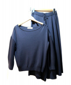 Viaggio Blu(ビアッジョブルー)の古着「ニットセットアップ」