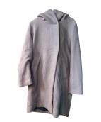 alcali(アルカリ)の古着「フーデッドコート」 グレー