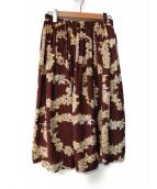 BEAMS BOY(ビームスボーイ)の古着「アロハロングスカート」