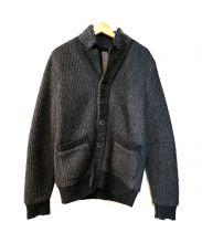 HAMAKI-HO(ハマキホ)の古着「ニットジャケット」|グレー