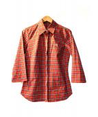 BURBERRY BLUE LABEL(バーバリーブルーレーベル)の古着「チェックシャツ」