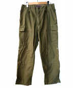NEPENTHES(ネペンテス)の古着「リップストップカーゴパンツ」|グリーン