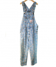 Candy Stripper(キャンディーストリッパー)の古着「ペペちゃんオーバーオール」|ブルー