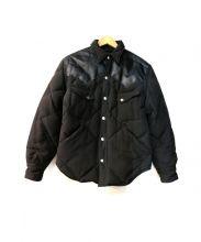 SUGAR CANE(シュガーケーン)の古着「切替ダウンジャケット」|ブラック