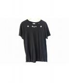 Saint Laurent Paris(サンローランパリ)の古着「Star Print T-Shirts」 ブラック