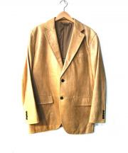 DURBAN(ダーバン)の古着「ラムレザーテーラードジャケット」
