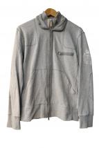 CORNELIANI(コルネリアーニ)の古着「ジップジャケット」|グレー