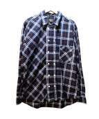 The DUFFER of ST.GEORGE(ザダファーオブセントジョージ)の古着「チェックシャツ」