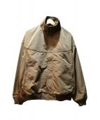 Gymphlex(ジムフレックス)の古着「キャップインショルダージャケット」|ブラウン