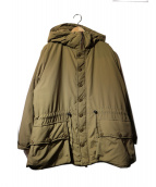 BURLAP OUTFITTER(バーラップアウトフィッター)の古着「button front parka」|コヨーテブラウン