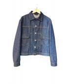 A.P.C.(アーペーセー)の古着「インディゴデニムジャケット」
