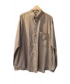 AURALEE(オーラリー)の古着「SUPER LIGHT CHECK BIG SHIRTS」