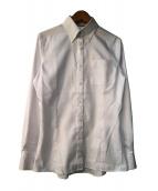 BLACK LABEL CRESTBRIDGE(ブラックレーベルクレストブリッジ)の古着「ボタンダウンシャツ」|ホワイト