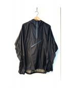 AIGLE(エーグル)の古着「アノラックパーカー」|ブラック