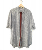 COMME des GARCONS(コムデギャルソン)の古着「ジップアップシャツ」