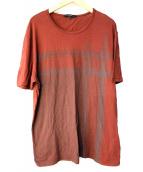 GUCCI(グッチ)の古着「GGプリントTシャツ」|ボルドー