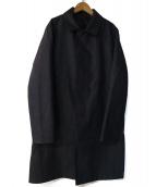 MACKINTOSH PHILOSOPHY(マッキントッシュフィロソフィー)の古着「ステンカラーコート」 ネイビー