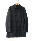 BURBERRY BLACK LABEL(バーバリーブラックレーベル)の古着「ステンカラーコート」 グリーン